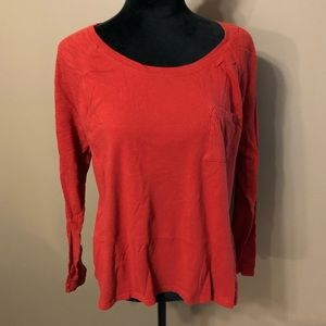 Old Navy long sleeve relaxed fit T-shirt L